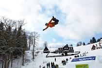 KAŽDOROČNÍ ADRENALIN si užívají ve Skiportu Velká Úpa nejen závodníci, ale i diváci.