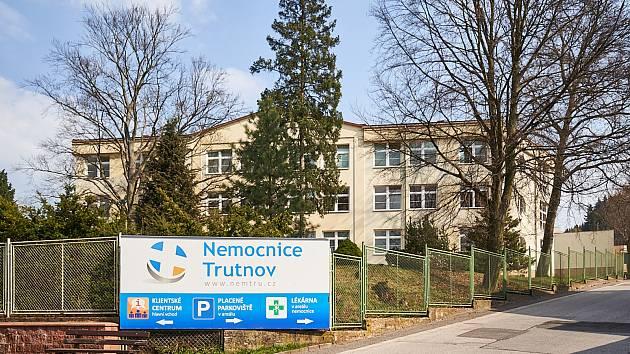 Oblastní nemocnice v Trutnově.