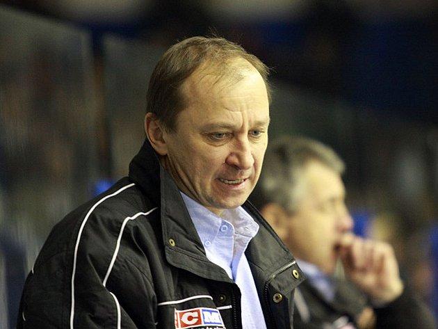 Vrchlabský trenér Vladimír Jeřábek.