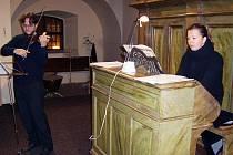 V augustiniánském klášteře se uskutečnil koncert u příležitosti 150 let od narození houslového virtuosa Karla Halíře.