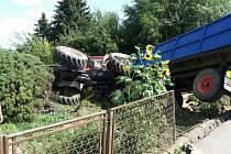Tragická dopravní nehoda v Bílé Třemešné