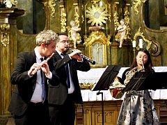 Kvintet se chystal v Krkonoších na francouzský festival