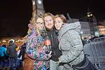 Novoroční oslavy a ohňostroj v Trutnově