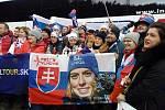 Špindl plní slovenští fanoušci.
