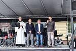 Slavnostní otevření náměstí Míru ve Vrchlabí.