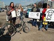 Demonstrace k dvacátému výročí smrti Pavla Wonky - Martin Věchet