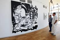 Prostor trutnovské Galerie Uffo nabízí výstavu dalšího z mladých představitelů české výtvarné scény, tentokrát malíře Filipa Černého