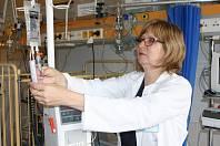 Jana Kaplanová, primářka dětského oddělení Oblastní nemocnice Trutnov.