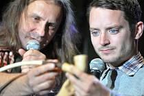 Martin Věchet a Elijah Wood