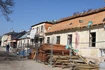 Obnova domů na Kuksu.