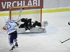 Hokejová 2. liga, skupina západ: HC Stadion Vrchlabí - HC Draci Bílina.
