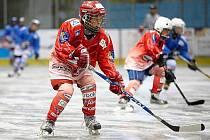 Hokejový kemp v Trutnově.