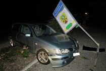 Nehoda mezi obcemi Malé Svatoňovice a Úpice