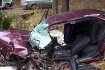 Dopravní nehoda ve Střítěži se neobešla bez zranění.