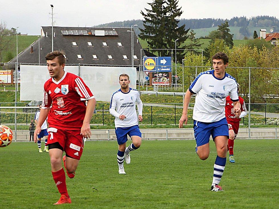Vrchlabští fotbalisté na domácím hřišti přehráli soupeře z Nového Bydžova 3:1.