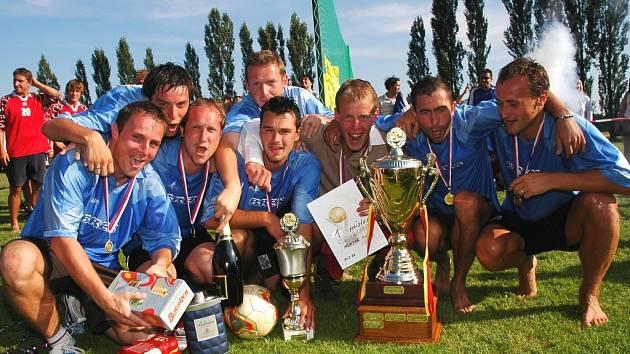 Kousci - vítězný tým Huňťák cupu 07
