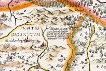 Krkonoše na starých rytinách a litografiích