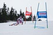 Kateřina Paulathová. Světový pohár v lyžování ve Špindlerově Mlýně