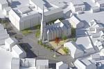 NOVÉ NÁMĚSTÍ MÍRU. Vrchlabská radnice se v příštím roce pustí do přebudování náměstí, které bylo až do druhé poloviny 19. století tím hlavním ve městě.