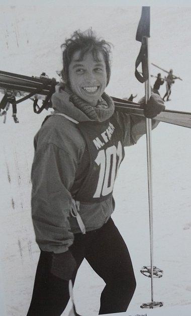 Magda Černocká – Slavíková ze Špindlerova Mlýna reprezentovala deset let Československo ve sjezdovém lyžování.