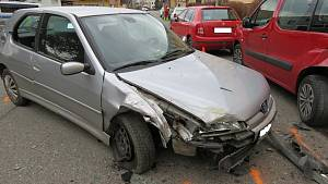Víc než čtyři promile a čtyři nabouraná auta.