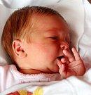 MAGDALÉNA FIEDLEROVÁ se narodila 24. července v 10.49 hodin Michaele a Richardovi. Vážila 3,38 kg a měřila 50 cm. Doma ve Vlčicích už čeká i sestra Rozálie.