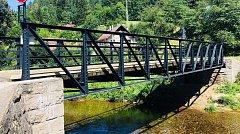 Opravený Novodvorský most v Trutnově.