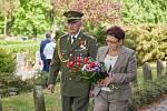 Podplukovník ve výslužbě Josef Svoboda. Od roku 1944 sloužil jako obsluha minometu u 1. československého armádního sboru.