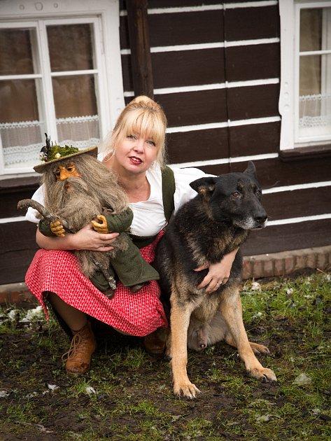 Danku Šárkovou zajímá život místních horalů, stravování, provoz horských chalup a penzionů a pak ty zvířátka vnich.