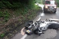 Tragická nehoda ve Chvalči