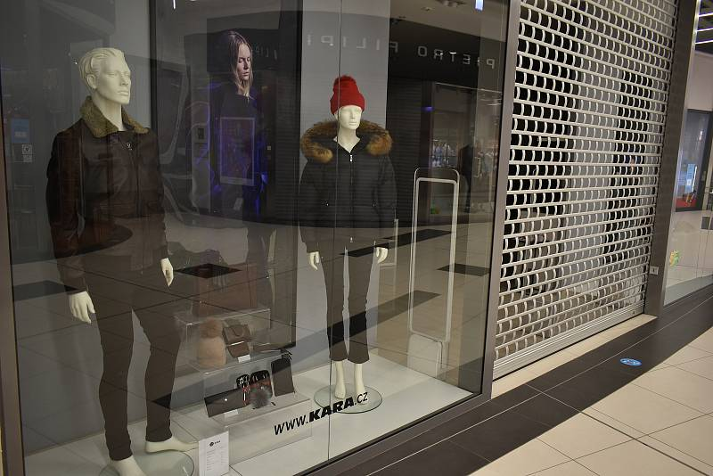 Prodejna Kary Trutnov v obchodním centru Futurum v Hradci Králové.