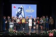 Finále večera v polské Svidnci, kde byly předávaný ceny Svidnický Gryf.