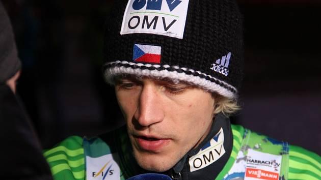 ROMAN KOUDELKA dosáhl na Mistrovství světa v letech na lyžích na šesté místo a skončil jako nejlepší z Čechů.