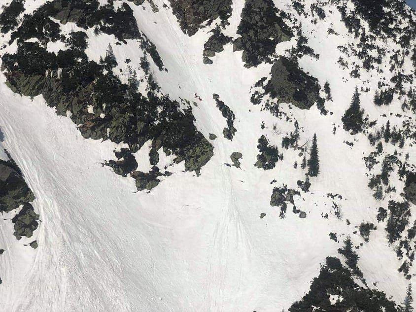 Skialpinista se vážně zranil v Krkonoších, zachraňoval ho vrtulník.