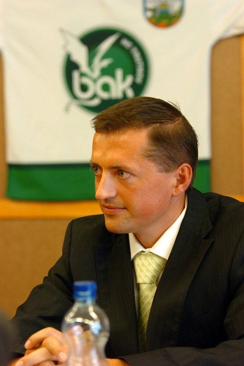 Petr Dědek, jednatel HC Trutnov.