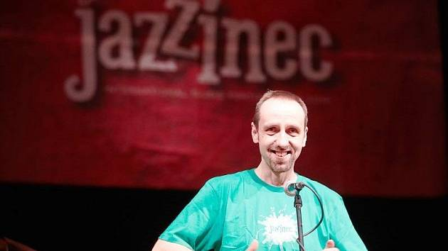 Tomáš Katschner, dramaturg festivalu Jazzinec.