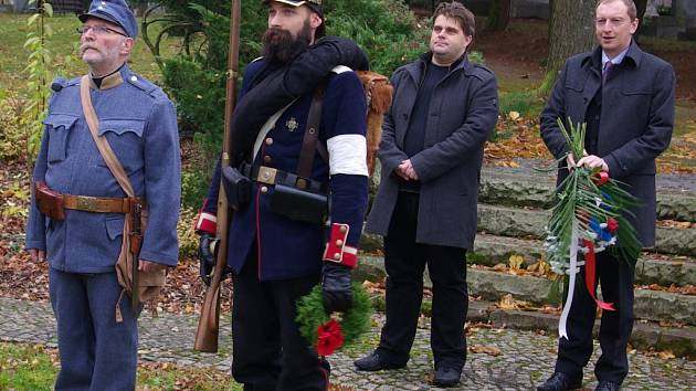 U památníku velké války vzpomínali na veterány