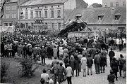 Srpen 1968 a stržení tanku v Trutnově.