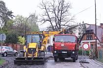 Ve Vrchlabí byla zahájena další velká investiční akce, kompletní rekonstrukce ulice U Nemocnice.