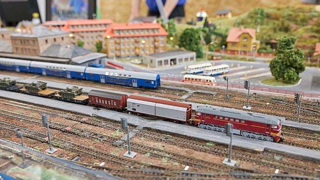 Výstava nejen železničních modelů v Trutnově