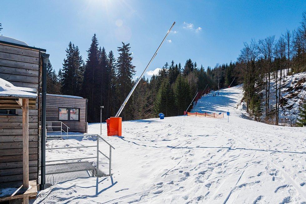 Špindlerův Mlýn v sobotu 6. března.