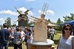 V sobotu se za veliké účasti veřejnosti konalo v Borovnici slavnostní ukončení stavby větrného mlýna.