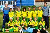 PŘED NEDÁVNEM se na turnaji okresních výběrů Libereckého kraje zadařilo také hráčům narozeným v roce 2005.