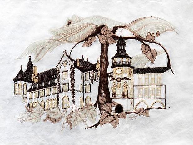 Originální dar odjel k partnerům do Německa