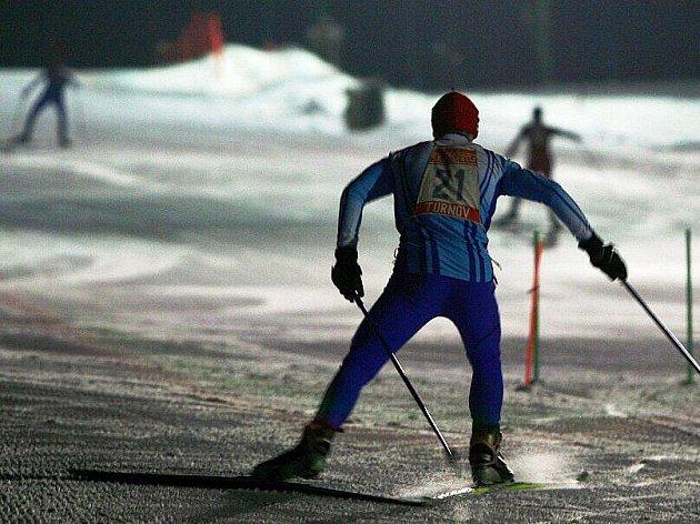Druhý ročník závodu Mountain race na sjezdovce ve Struhách v Bělé u Turnova.