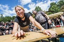 V Trutnově začal ve středu odpoledne 21. ročník hudebního festivalu Obscene Extreme.
