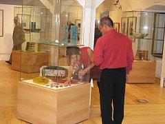 Vernisáž výstavy Krása baroka Renaty Greiner a manželů Kaufmanových v muzeu Dvůr Králové