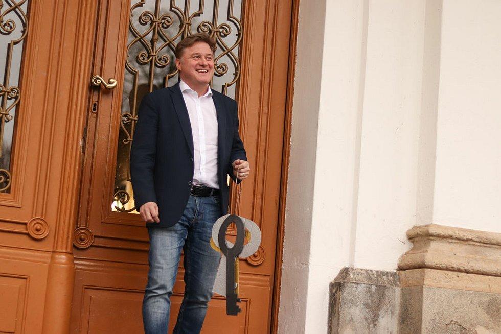 Jan Sobotka, vítěz 1. kola senátních voleb na Trutnovsku.