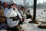 Na bojišti u obce Královec se představilo 250 vojáků z celé České republiky i ze Slovenska.