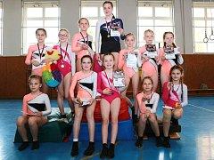 Gymnastika hlásí dvacet postupů na republiku